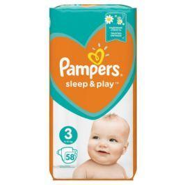 PAMPERS Sleep&Play Midi 4-9kg dětské pleny 58ks