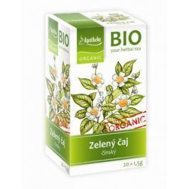 Apotheke BIO Zelený čaj 20x1.5g