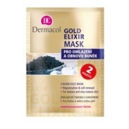 Dermacol Gold Elixír Mask pro oml.a obn.buněk 2x8g