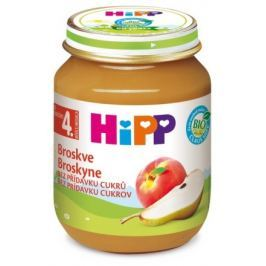 HIPP OVOCE BIO Broskve. 125g. CZ4202