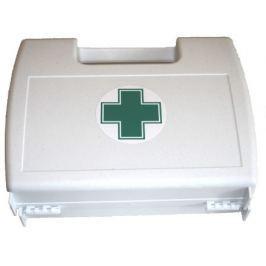 Lékárnička - plast. kufřík s křížem bílý prázdný