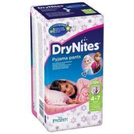 HUGGIES DryNites kalh.abs.4-7/M/girls/17-30kg/10ks dětské pleny