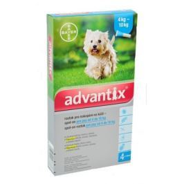 Advantix pro psy spot.on.od 4 do 10kg a.u.v.4x1 ml