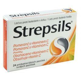 Strepsils Pomeranč s vitamin.C orm.pas.24