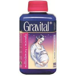 VitaHarmony Gravital tbl.180 pro těhot.a koj.ženy