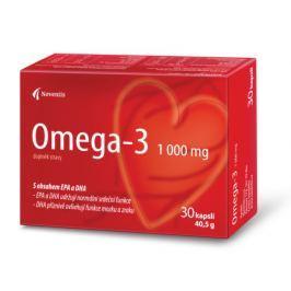 Omega-3 1000mg cps.30 pro zdravé srdce a cévy Pamět a soustředění