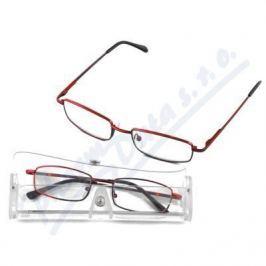Brýle čtecí American Way +3.00 červené v etui