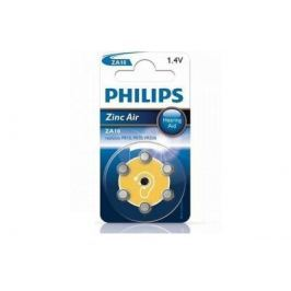 Baterie do naslouchadel PHILIPS ZA10B6A/10 6ks