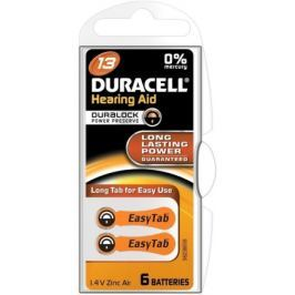Baterie do naslouch.Duracell DA312 Easy Tab 6ks