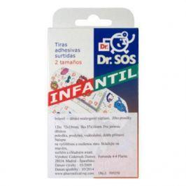 Náplasti Dr.SOS dětské hypoalergenní mix 20ks