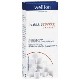 Tekutý cukr Wellion (10 sáčků po 13ml)