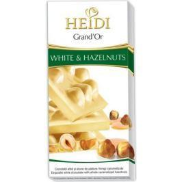 Čokoláda HEIDI Grand´or whole hazel.white 100g