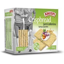 Knuspi Crispbread jarní zelenina 150g
