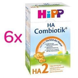 HIPP MLÉKO HiPP HA2 Combiotic 6x500g