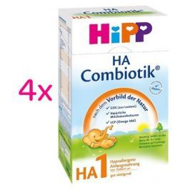 HIPP MLÉKO HiPP HA1 Combiotic 4 x 500g
