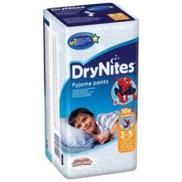 HUGGIES DryNites kalh.abs.3-5 Boy 10ks