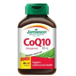 Jamieson Koenzym Q10 60 mg 60+20 kapslí