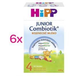 HiPP MLÉKO HiPP 4 JUNIOR Combiotik 6x600g