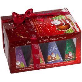 Čaje Christmas Tea Collection pyram.4druhy po 3ks