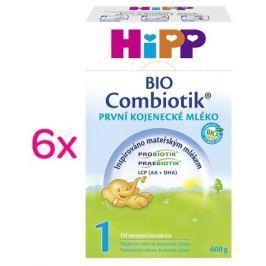 HiPP MLÉKO HiPP 1 BIO Combiotik 6 x 600 g