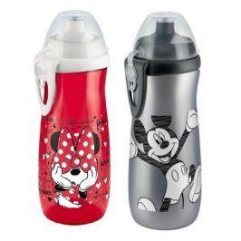 NUK FC Láhev Sports Cup, Disney - Mickey 450 ml, SI push-pull pítko