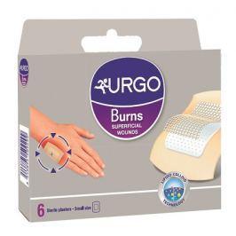 URGO Burns Na popáleniny lipidokol.nápl 5x7cm 6ks