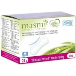 Vložky MASMI Slipové ultratenké z org.bavlny 24ks