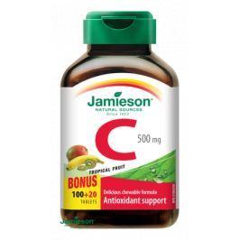 JAMIESON Vitamin C 500mg tr.ovoce tbl.na cuc.120ks