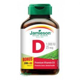 JAMIESON Vitamín D3 1000mcg tbl.240 Vitamín D