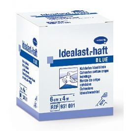 Obin.elast.Idealast-haft color 6cmx4m/1ks modrá
