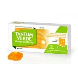 TANTUM VERDE ORANGE AND HONEY orm.pas.20x3mg