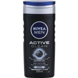 NIVEA Sprchový gel muži ACTIVE CLEAN 250ml č.84045