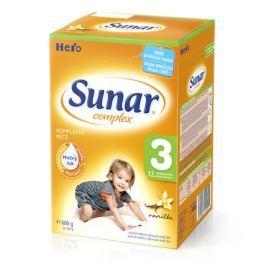 Sunar complex 3 vanilka 600g (nový)