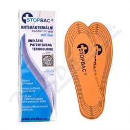 StopBac antibakter. vložky do bot ORTO TREND 1pár