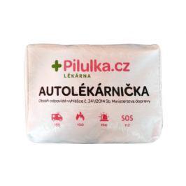 Autolékárnička Pilulka - textilní taška, bílá