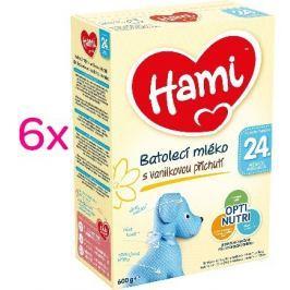 Hami 24 + Vanilka 6x600g