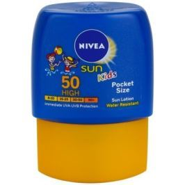 NIVEA SUN dětské mléko na opal. OF50 kapesní 50ml