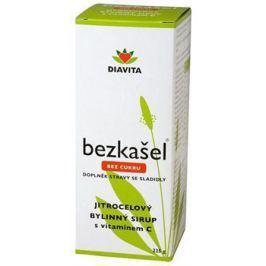 BEZKAŠEL jitrocelový bylinný sirup bez cukru 225 g