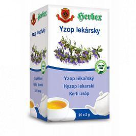 HERBEX Yzop lékařský 20x2g