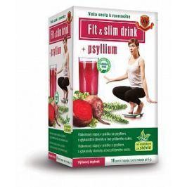 HERBEX Fit&Slim Drink + Psyllium 16x6 g
