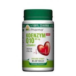 Koenzym Q10 Forte 60mg+Vitamin E tob.30