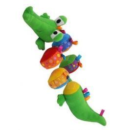 Plyšová edukační hračka Baby Mix krokodýl