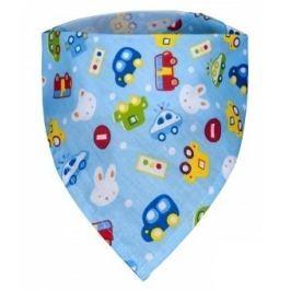 Dětský šátek, auta