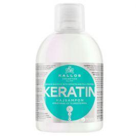 Regenerační šampon s keratinem a mléčnými proteiny (Keratin Shampoo) 1000 ml