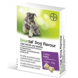 Drontal Dog Flavour 150/144/50mg tbl.2
