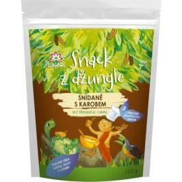 Snídaňová směs snack z džungle karob (dětská snídaně) 300g