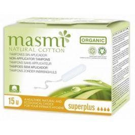 Tampony MASMI SUPER PLUS z organické bavlny 15ks