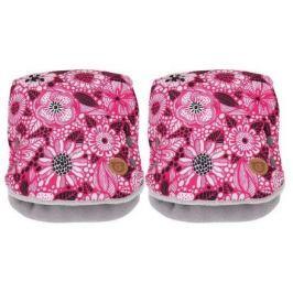 GMINI JEMI-rukávník 2ks růžová potisk UNI zima 16