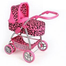 Multifunkční kočárek pro panenky PlayTo Jasmínka růžový