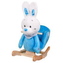 Houpací hračka PlayTo králíček modrá